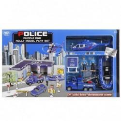 Гараж полиция с машинкой,...